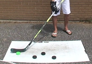 review hockey shooting board