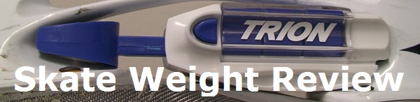 Trion skate weight review